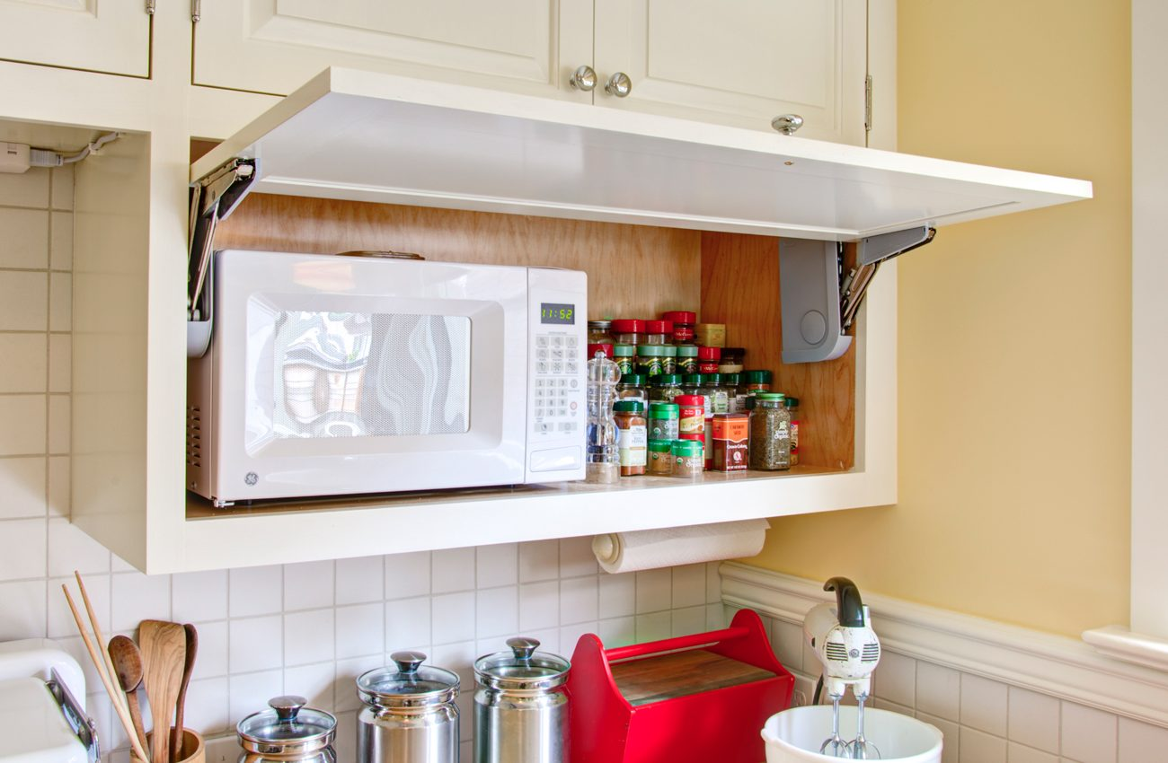 The Way To Place Your Microwave In Case Your Kitchen Is Little